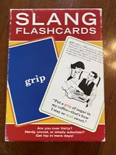 60 Slang Flash Cards 2003 Hip Hop Rap Street Cred Retro Art Party Game