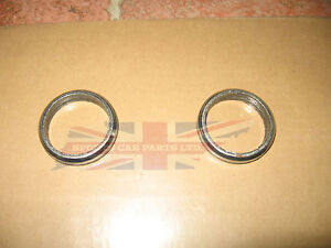 Pair of New Exhaust Donut Flange Gaskets MGB 1963-1974 MG Midget 1967-1974