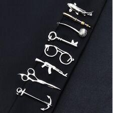 Men Metal Tie Clip Bar Necktie Pin Clasp Clamp Wedding Charm Creative Gifts New!