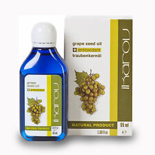 100% PURE NATURAL GRAPE SEED Oil Massage Essential IKAROV Face Neck & Body 55ml