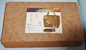 NIB w/ Instructions Tandy Leather Charlotte Tote w/ Pouch Purse Kit
