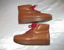 Vintage 80's Bass Sugarloaf Leather Hiking Boot  Womens 6.5 Youth 5