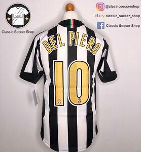 Juventus DEL PIERO #10 2005/06 Home Shirt Small / S