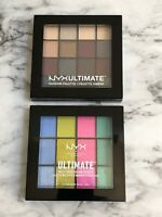 NYXULTIMATE  LOT OF 2 - 2 PALETTE EYE SHADOWS  BRAND NEW