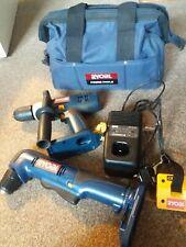 Ryobi 2 Drill Pack