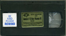 AMERICA'S 10 MOST WANTED #1; VHS 1997 Odyssey Group Pictures Anita Blond Felecia