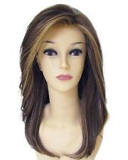 Hot Top Wig New Fashion Beautiful Women's Long Brown Mix Blonde Full Wigs