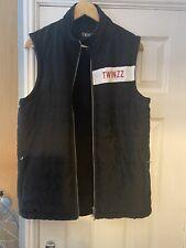 Twinzz Black Fleece Waistcoat M