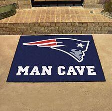 "New England Patriots Man Cave 34"" x 43"" All Star Area Rug Floor Mat"