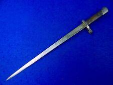 Greek Greece Ww2 Austrian Made Model 1903 Bayonet Fighting Knife