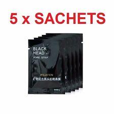 5 x BLACKHEAD BLACK HEAD REMOVER PORE PILATEN CLEANSING STRIP FACE NOSE MASK