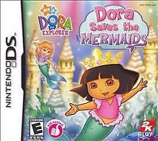 NEW Nintendo DS Dora the Explorer Saves the Mermaids Factory Sealed Free Ship !