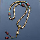 7x4mm Tibet Buddhism 108 Tibetan copper Bead Prayer Beads Mala