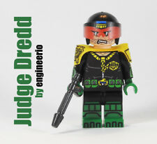 LEGO Custom -- Judge Dredd -- DC minifigures batman flash superman