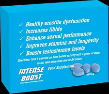 Male Sexual Power Performance Intense Boost Pills Erection Penis Enlarge Sex