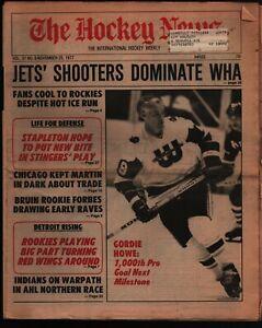 The Hockey News Weekly Newspaper Nov 25 1977 Vol 31 #8 Gordie Howe 102621WEEM