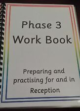 PHASE 3 WORK BOOK- LETTERS / SOUNDS/ PHONICS/ WRITING / READING/ SPELLING