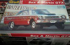 REVELL 1967 PLYMOUTH GTX HEMI SOX&MARTIN 1/25 FS Model Car Mountain KIT USA