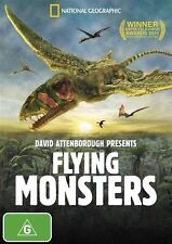 David Attenborough Presents Flying Monsters DVD BRAND NEW SEALED
