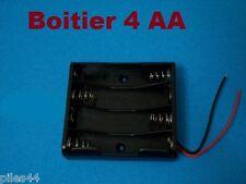 Boitier Bloc Support Coupleur 4 Accus AA (4.8v ou 6V) RC Accu Pile Batterie
