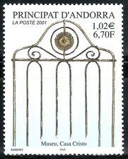 ANDORRA FRANCESA 2001 542 MUSEO CASA CRISTO 1v.