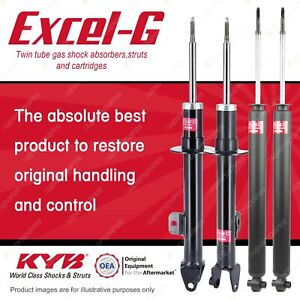 Front + Rear KYB EXCEL-G Shock Absorbers for CHRYSLER 300C RWD All Styles