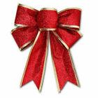 25cm Large Bows Bowknot Christmas Tree Ornaments Xmas Holiday Party Home Decor