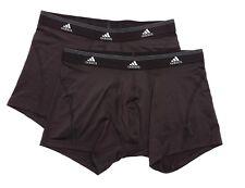 Adidas Set Of 2 Men's Black Boxer Briefs Sz M 4217