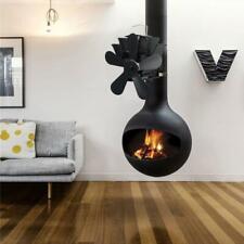 Powerless 5 Blade Stove Fan Tube Fan Heat Power Wood Stove Oven Blower