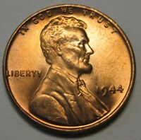1944 S Lincoln Wheat Cent in the BU Range From Original Bank Wrapped Rolls