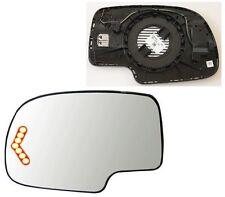2003-2007 GMCSierra 1500 2500 3500 HD Driver Side Signal Mirror GLASS w/Backing