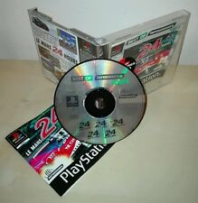 LE MANS 24 HOURS Sony PlayStation ps1 psx gioco game infogrames prima stampa