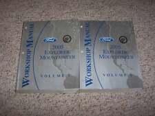 2005 Ford Explorer Shop Service Repair Manual XLS XLT Eddie Bauer Limited V6 V8