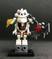 SAMUKAI BOSS GREY  WEAPON SKELETON LEADER NINJAGO TOP ARCADE