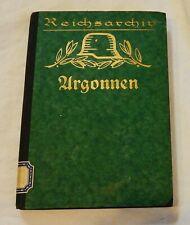 Reichsarchiv 18 - Argonnen - Mit Kartenbeilagen - 1934 - WK1 (A)
