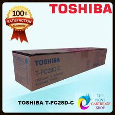 Genuine Toshiba T-fc28d-c Cyan Toner Cartridge Tfc25d Tfc25dc