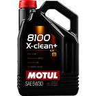 Motul 8100 X-CLEAN+ 5W30 C3 5 LITRI Tagliando Olio Motore Auto VW 504.00 507.00