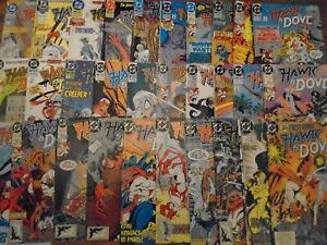 HAWK AND DOVE #1-28, #1, 2 Annual Complete Set DC Comics 1989