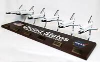 NASA US Space Shuttle Orbiter Collection Desk Display Spacecraft 1/144 ES Model