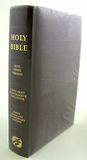 Holy Bible  King James Version - Giant Print - Jimmy Swaggart Commentary Edition