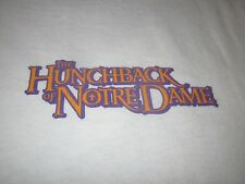 THE HUNCHBACK OF NOTRE DAME VINTAGE 90S PROMO TEE SHIRT LARGE