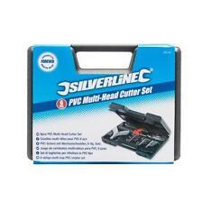 Silverline PVC Multi Head Cutter Set 6 Pce Conduit Trunking Plastic Pipe 251101