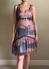 Beautiful Stylish Authentic DECA PARIS Taille 4 Dress BLINK orig.$325