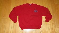 Vintage Colorado Avalanche The Game Sweatshirt Size XL Red Embroidered 90's USA