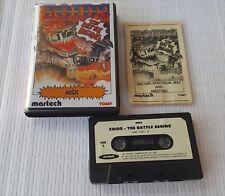 MSX Game - ZOIDS - martech