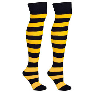 Knee High Socks with Stripes for Outfits, Sports, Holidays, + More! Mato & Hash