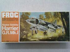 Frog F273 Hawker Siddeley Harrier G.R.Mk.I 1:72 Neu & eingetütet mit Lagersp.