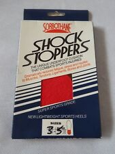 Sorbothane Shock Stopper Heel Pad Insoles Helps with Foot & Back Pain size 3 - 5