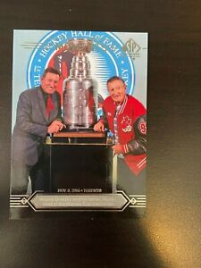 2014-15 Upper Deck SP Authentic All-Time Moments Wayne and Walter Gretzky #198