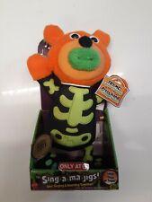 Sing A Ma Jigs Singing Plush Toy Skeleton Halloween Target Exclusive 2011 TOTY